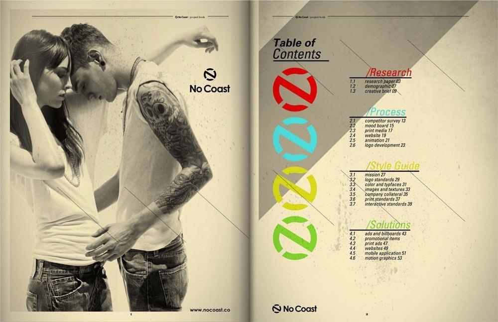 No Coast branding & style guide