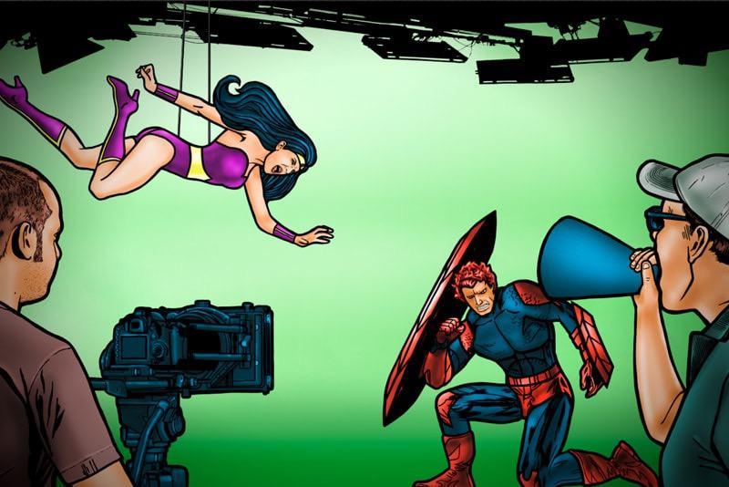 Super Hero Battle 1