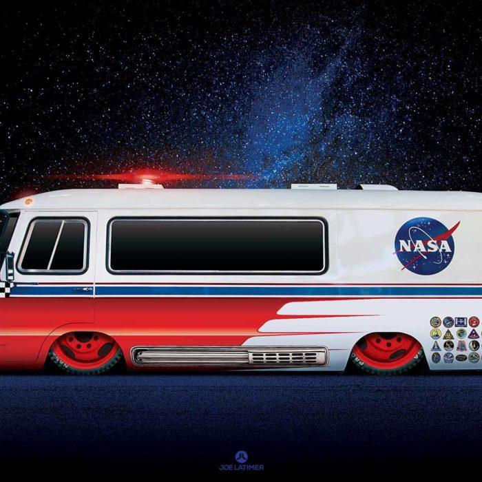 Rogue Nasa Van
