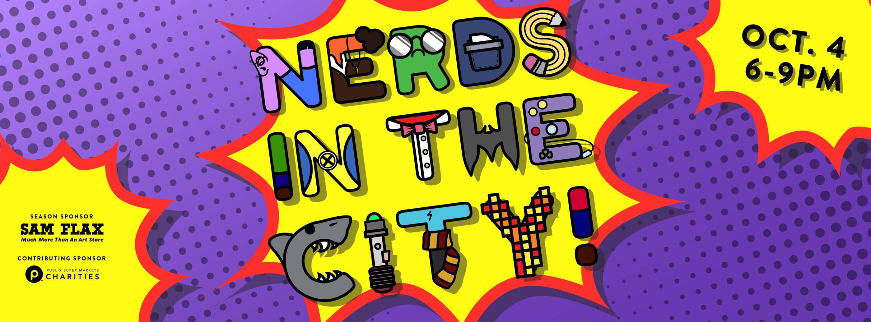 T-Wrecks at OMA 1st Thursdays: Nerds In The City Art Show