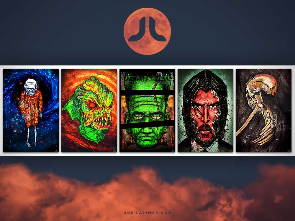 5 Provoking Art Prints for October